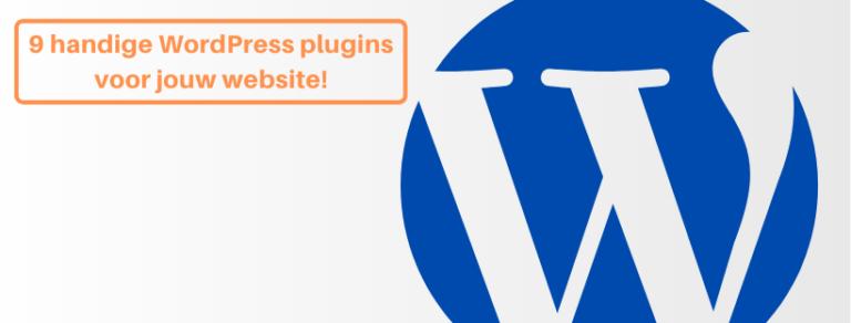 9 handige WordPress plugins voor jouw website!