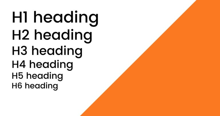 Wat zijn HTML headings?