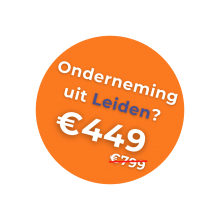 Korting onderneming Leiden